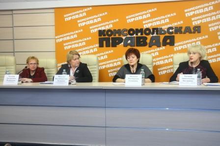 """В Нижнем Новгороде состоялась пресс-конференция на тему """"Что делается в регионе, чтобы улучшить качество жизни пенсионеров и обеспечить их правовой помощью"""""""