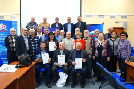 Турнир по шахматам среди пенсионеров прошел в Нижнем Новгороде