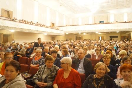 Более 1200 пенсионеров Нижнего Новгорода и области посетили Гала-концерт звезд оперы и балета музыкальных театров Приволжского Федерального округа