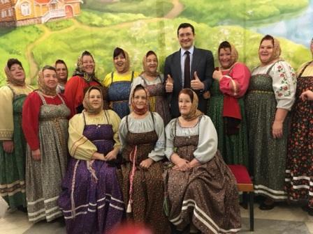"""Гала-концерт """"Все мы родом из деревни"""" состоялся в Нижнем Новгороде"""