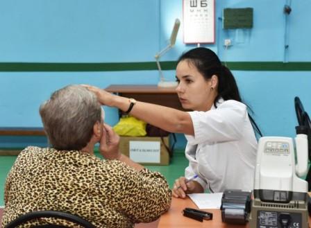 В Арзамасе бесплатное офтальмологическое обследование прошли 250 пенсионеров