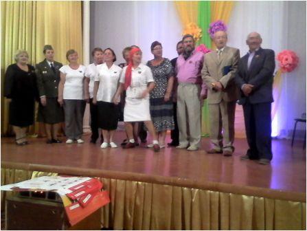 В Лукоянове был проведен Клуб Веселых Пенсионеров