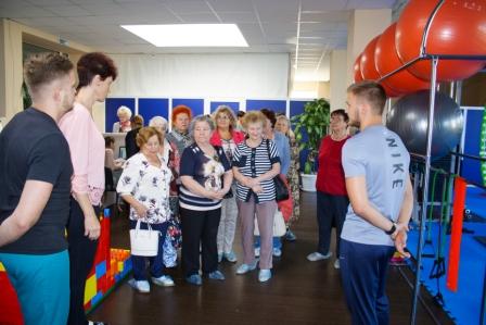 """Первое занятие в """"Школе здоровья для тех, кому за 50"""" прошло в Нижнем Новгороде"""