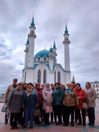Пильнинские пенсионеры посетили город Казань