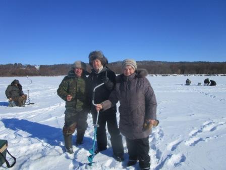 В Пильне состоялись соревнования по зимней рыбалке