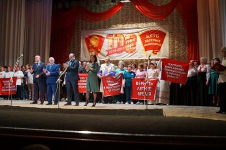Финальный турнир Клуба веселых пенсионеров состоялся в Нижнем Новгороде