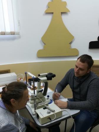 В Семенове 240 пенсионеров смогли бесплатно проверить зрение
