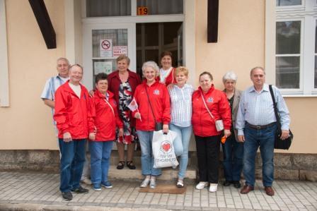 Нижегородские пенсионеры посетили с дружественным визитом Венгрию