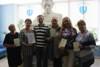 Очередная группа пенсионеров получила удостоверения об окончании курсов повышения компьютерной грамотности