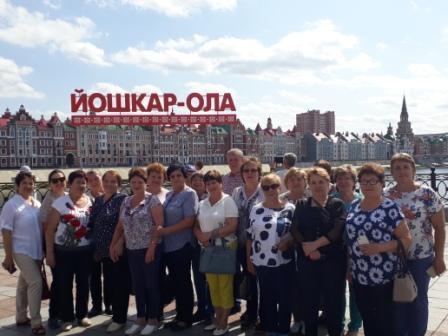Пильнинские пенсионеры посетили Йошкар-Олу