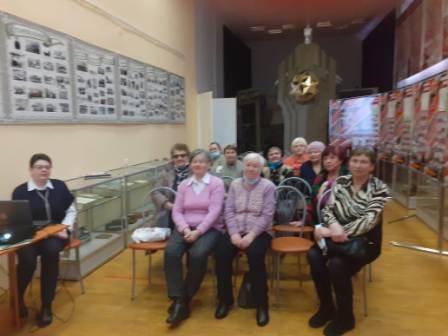 Шатковские пенсионеры посетили районный историко-краеведческий музей